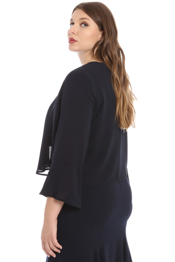 Georgette bolero jacket Intrend