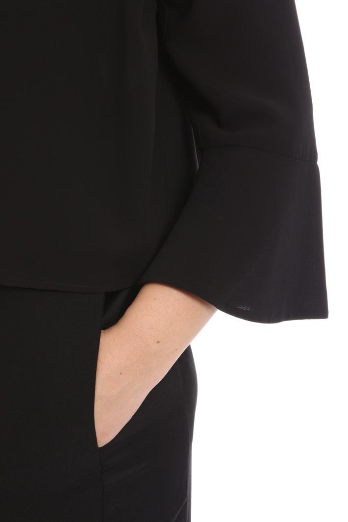 Georgette bolero jacket Intrend
