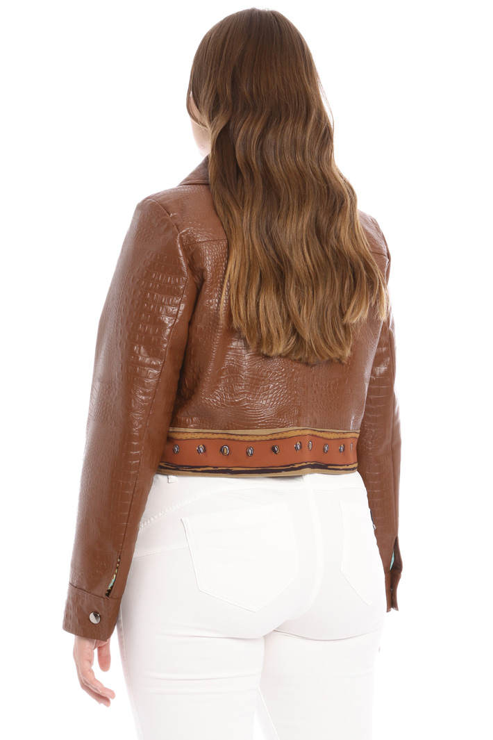 Faux leather jacket Intrend