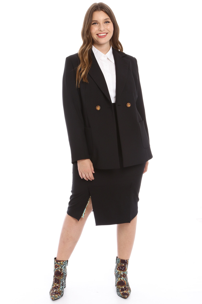 Stretch crepe jacket Intrend