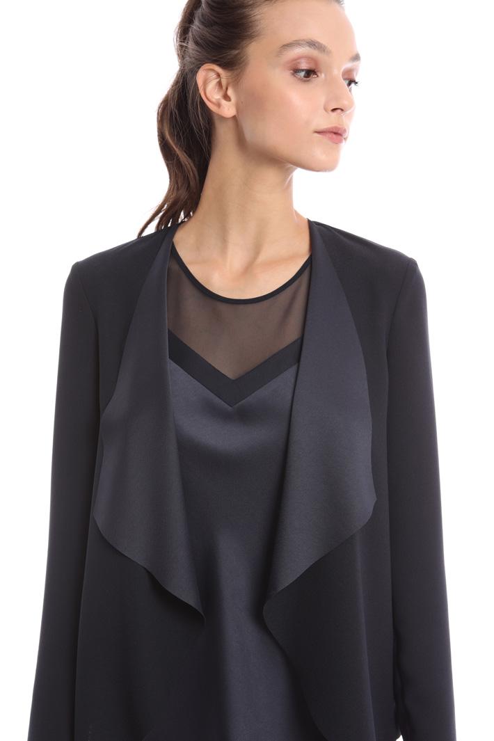 Shawl collar jacket Intrend
