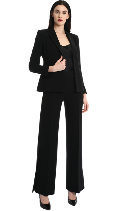 Cady and silk satin blazer Intrend