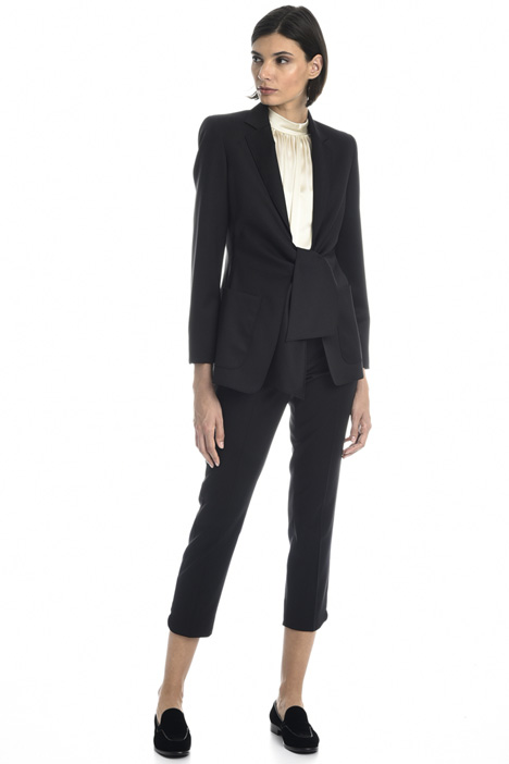 Wool twill blazer Intrend