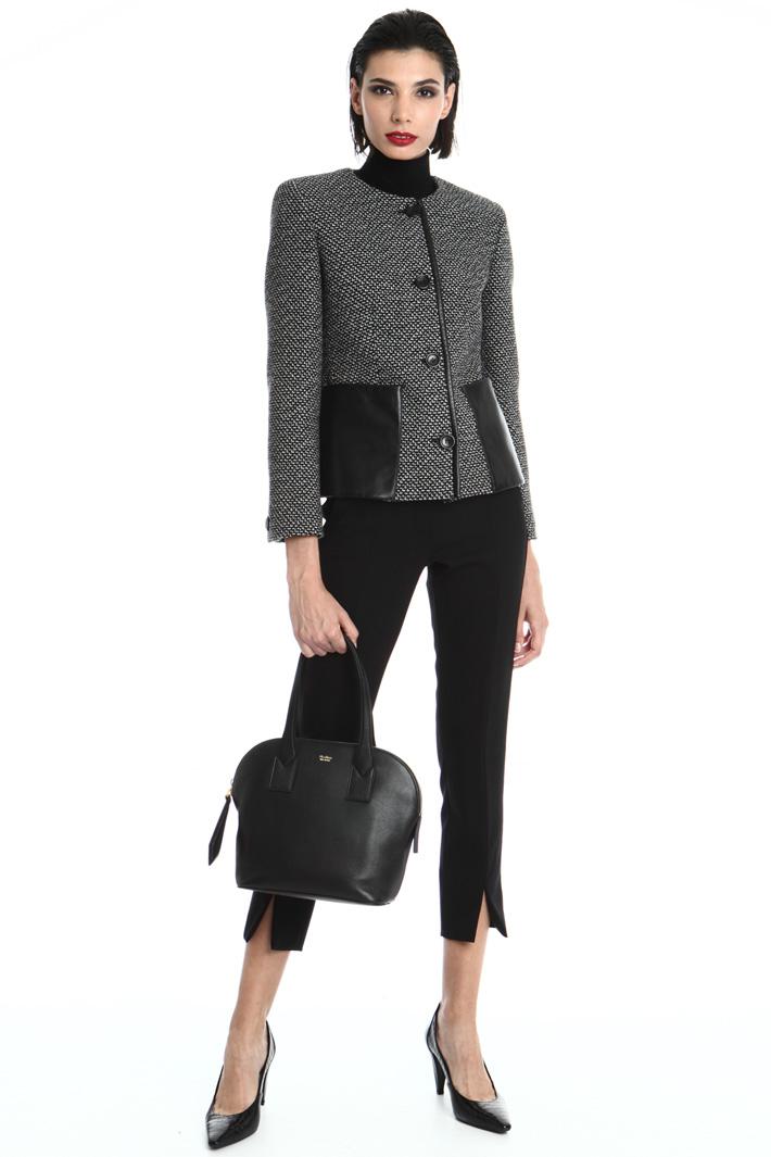 Wool jacquard jacket Intrend