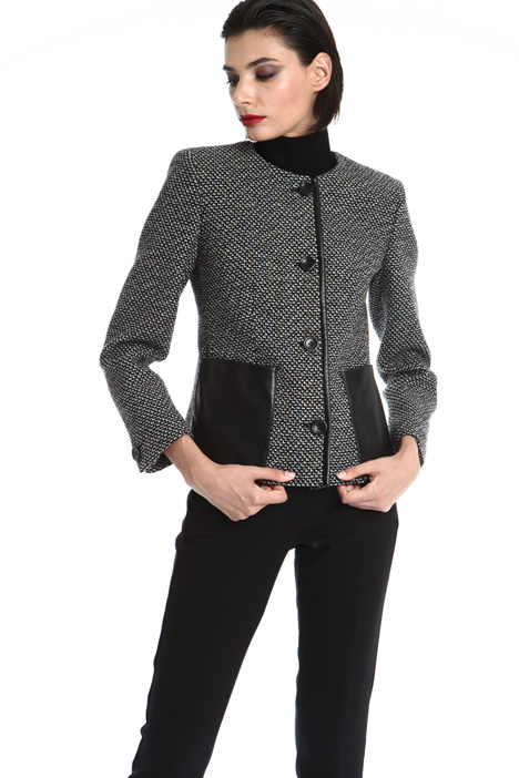 Wool jacquard jacket Intrend