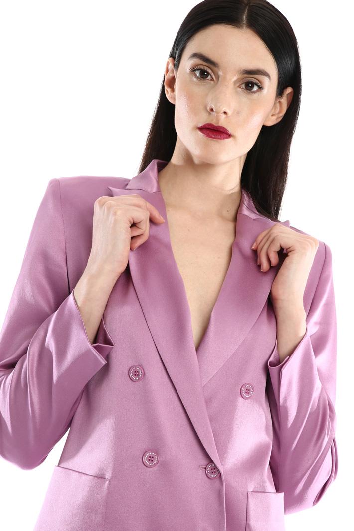 Silk satin blazer Intrend
