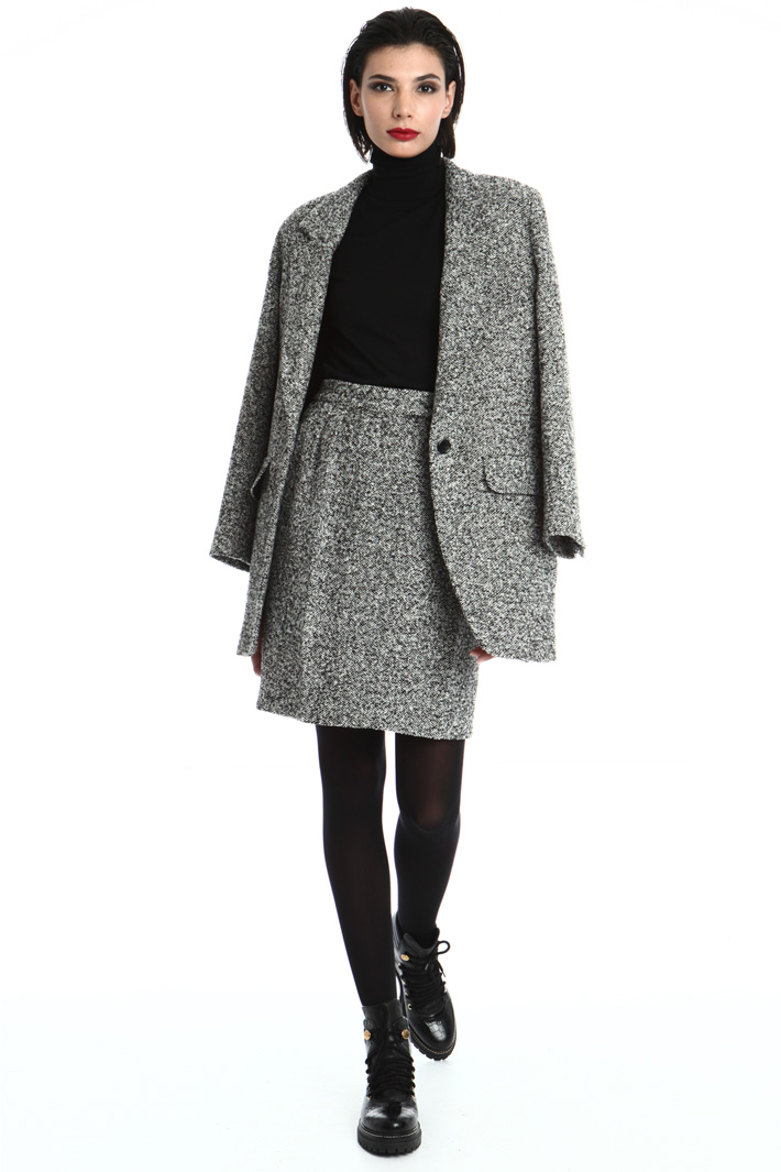 Wool tweed blazer Intrend