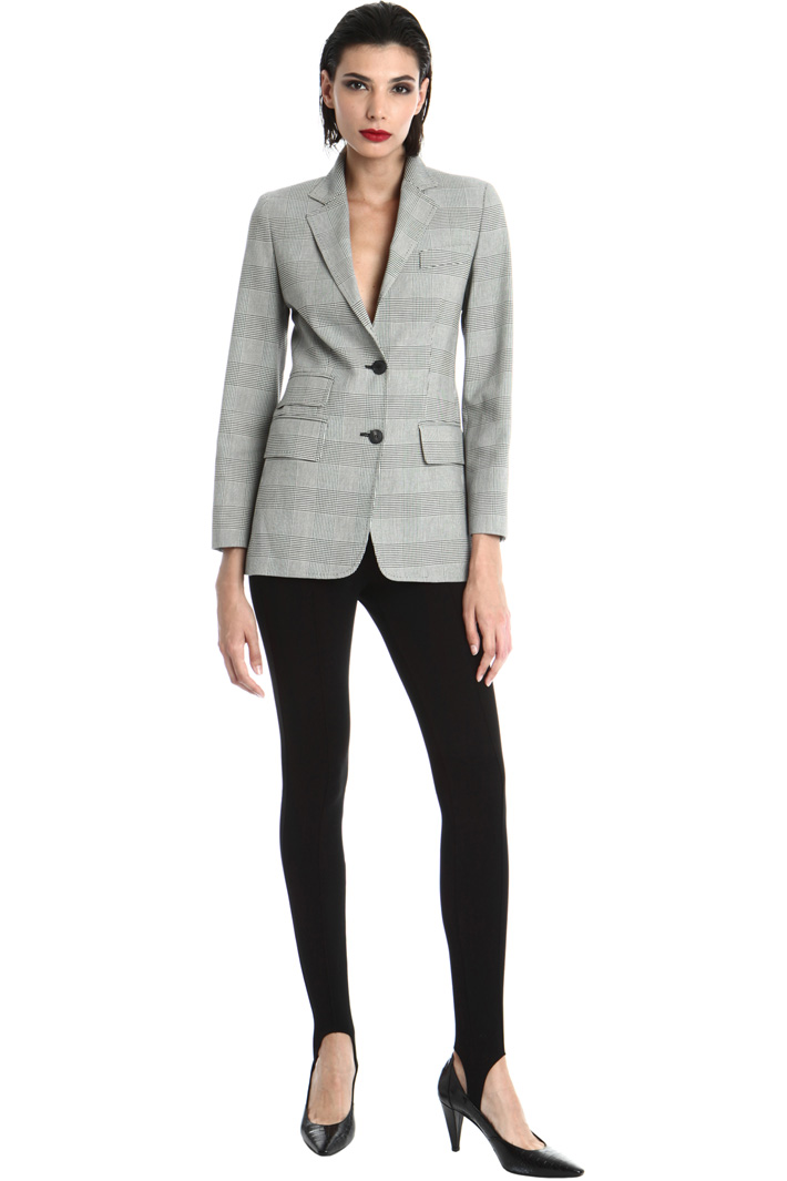 Cotton crepe blazer Intrend