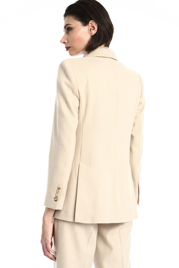 Camel and cashmere blazer Intrend