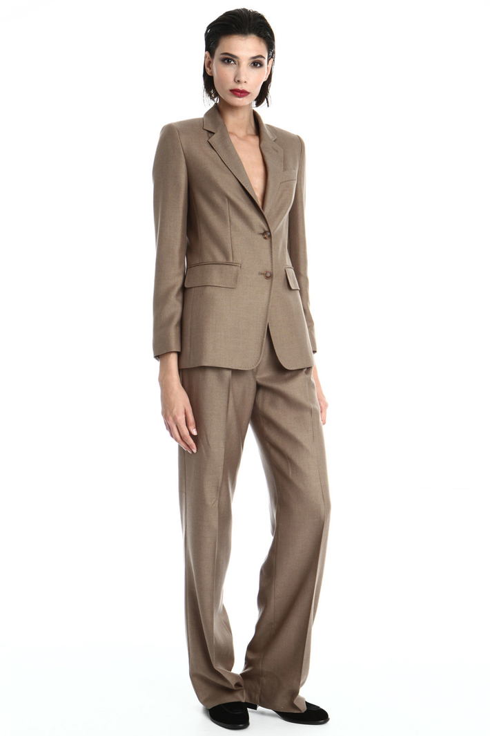Camel and silk blazer Intrend