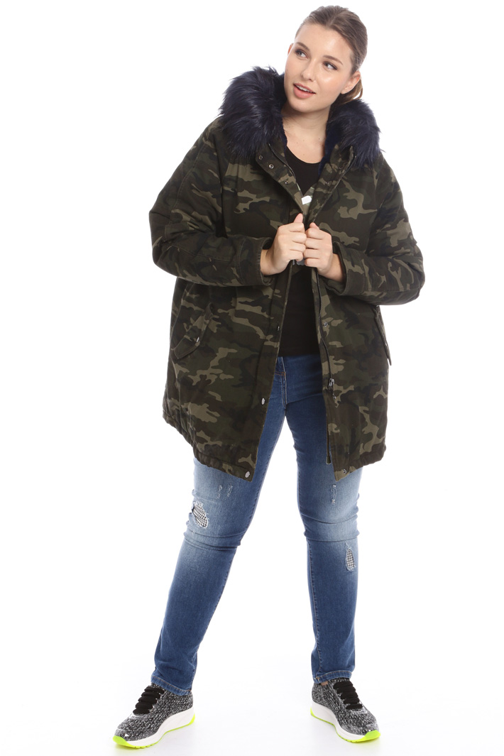 Hooded padded parka  Intrend