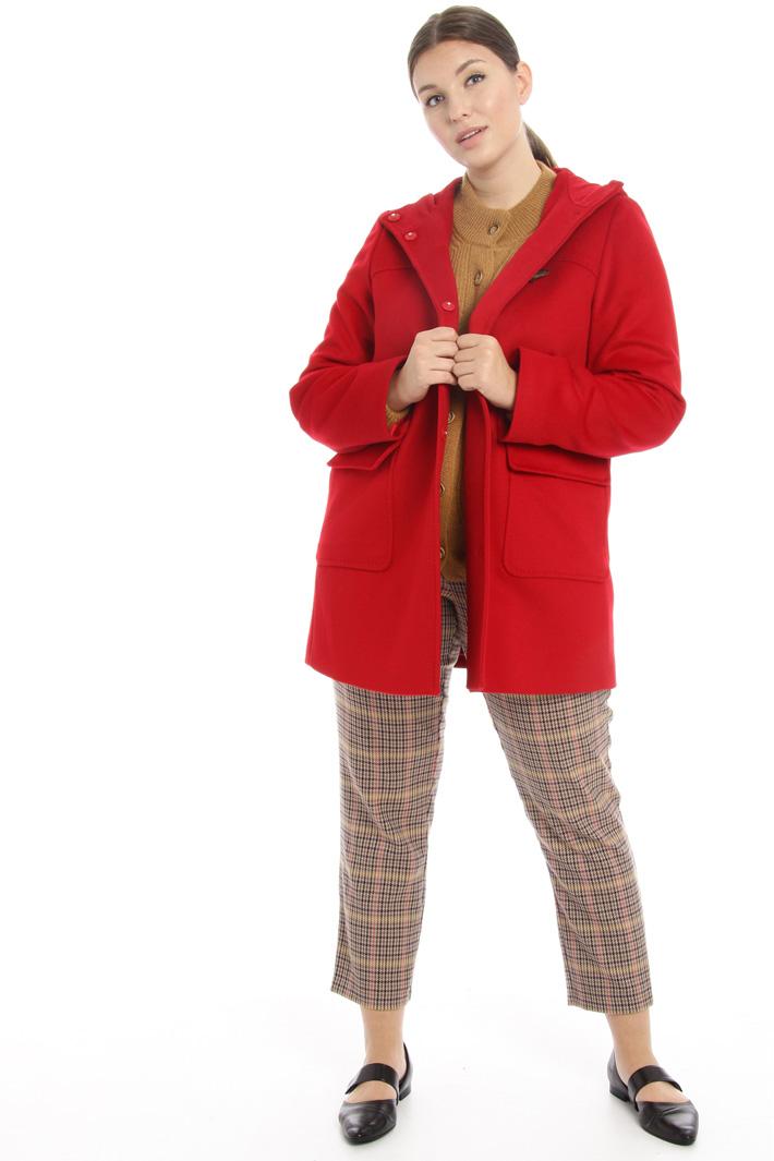 Duffle coat wool broadcloth Intrend