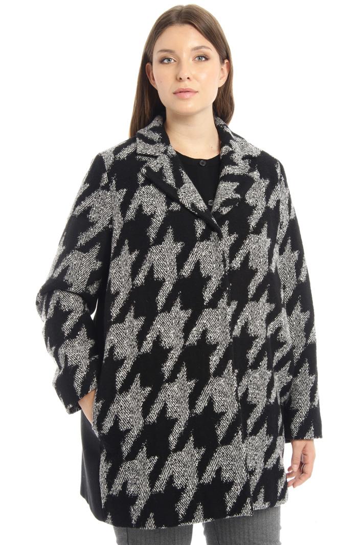 Jacquard coat Intrend