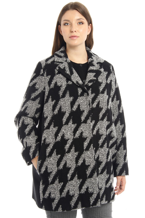 Jacquard coat Intrend