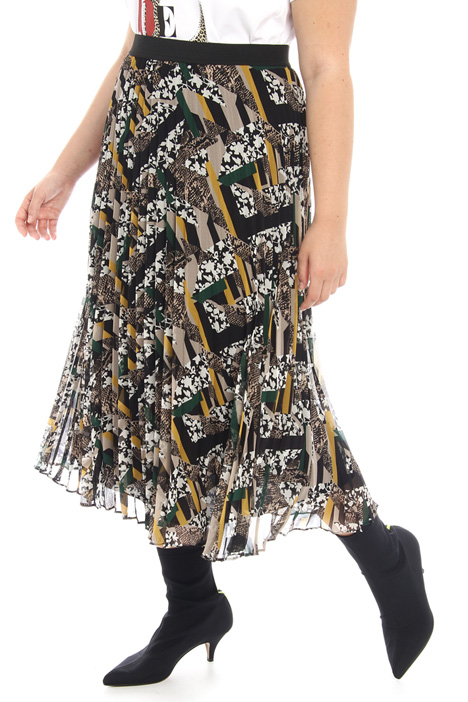 Pleated A-line skirt Intrend