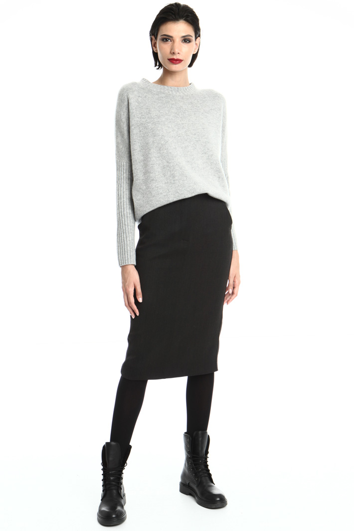 Stretch wool skirt Intrend