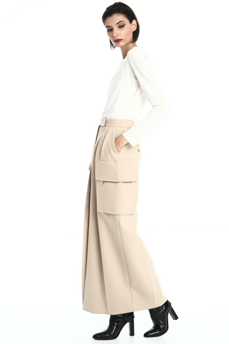 Camel and cashmere skirt Intrend
