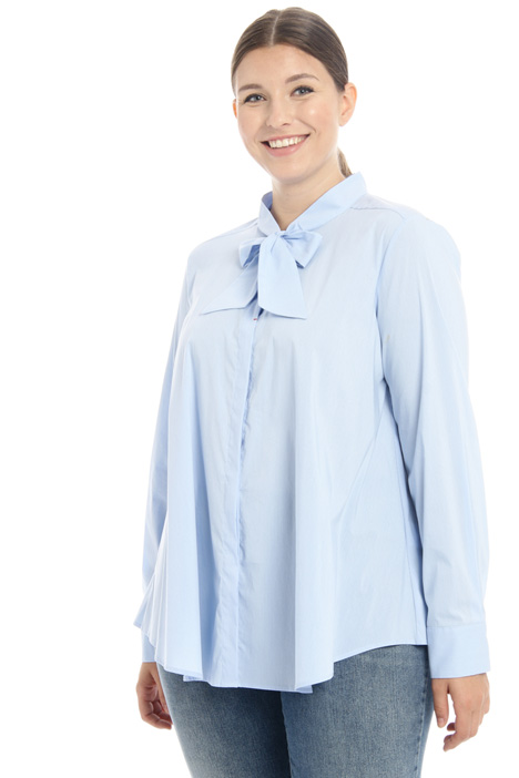 Stretch poplin blouse Intrend