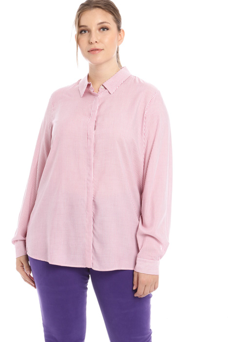 Fluid viscose shirt Intrend