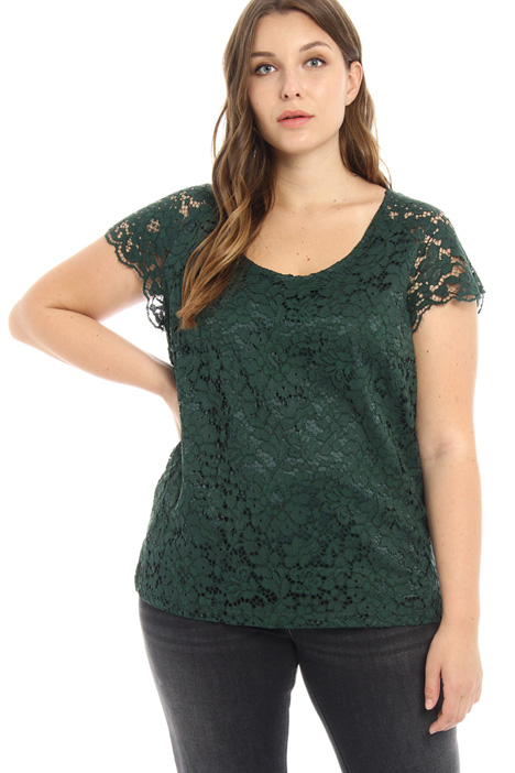Macramé lace tunic Intrend