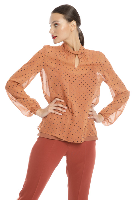 Printed georgette blouse Intrend