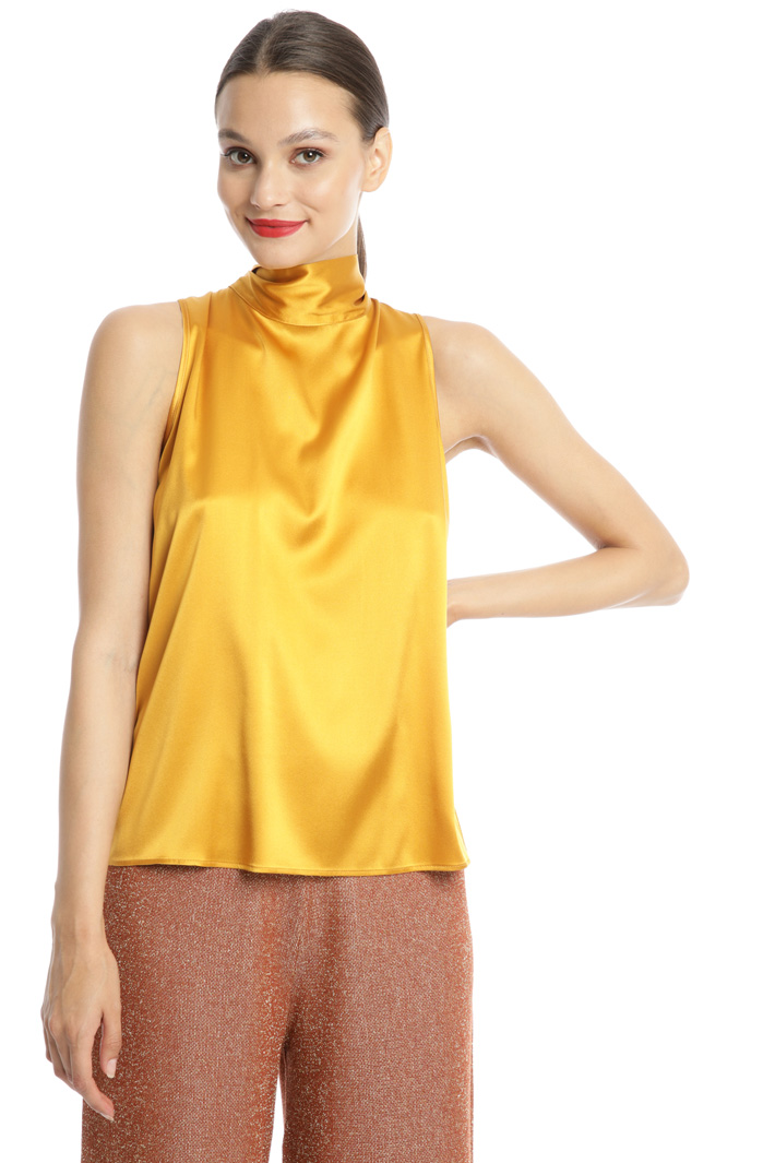 Bow neck top Intrend