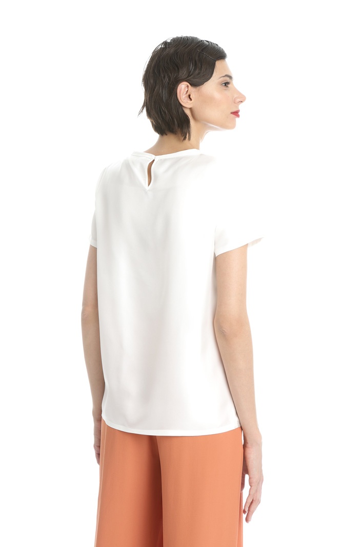 Pure silk Tee Intrend