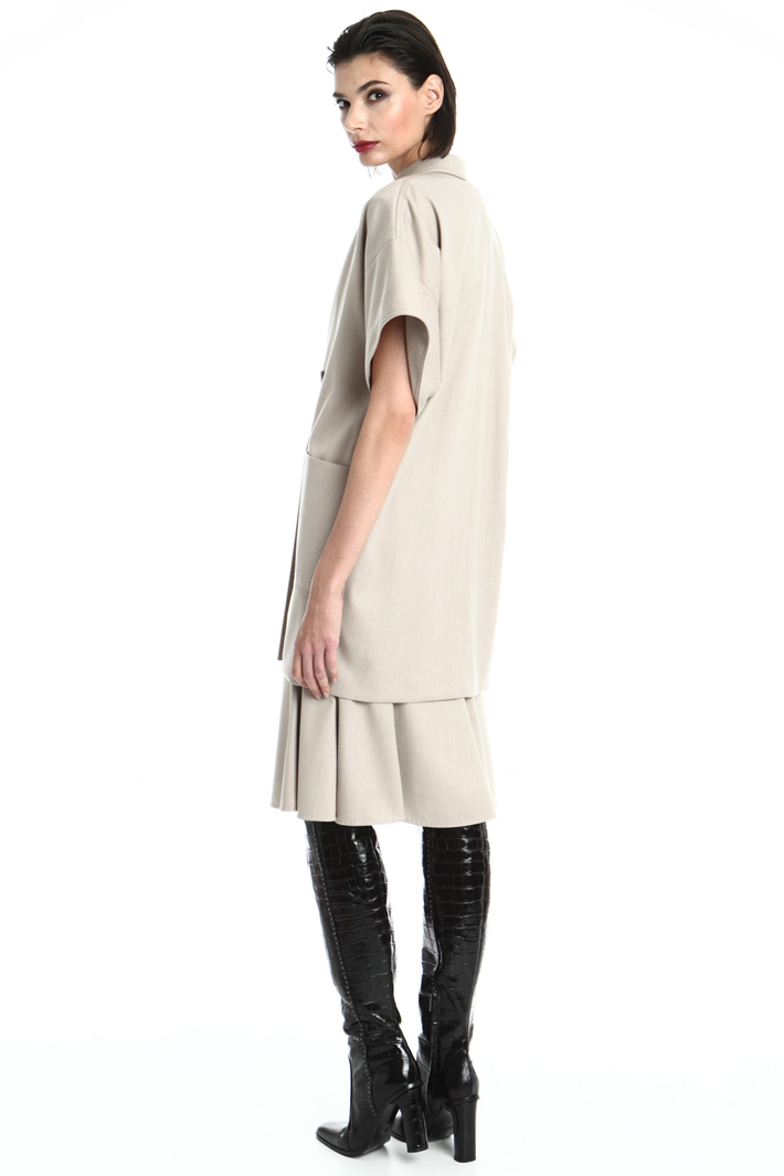 Short sleeve overcoat Intrend