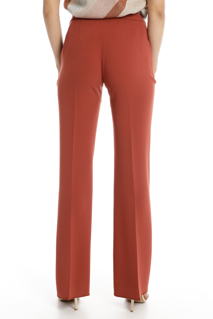 Cady wide-leg trousers Intrend