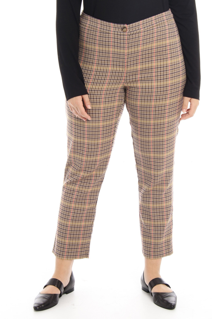 Stretch flannel trousers Intrend