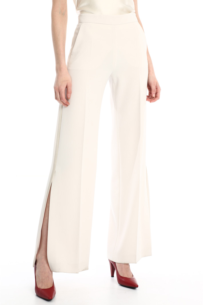 Cady slit trousers Intrend