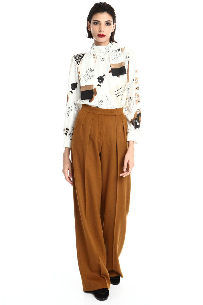 Camel trousers Intrend
