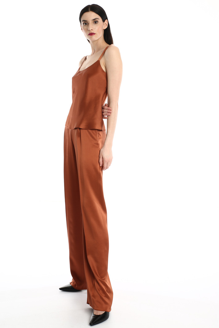 Silk satin trousers Intrend
