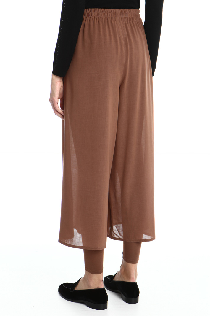 Crop wool trousers Intrend