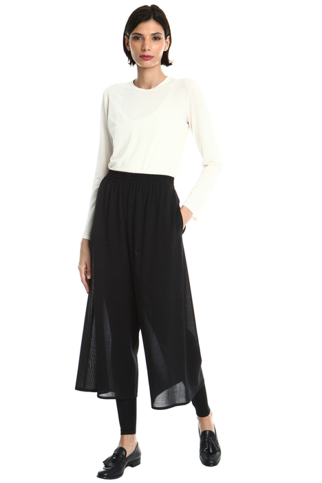 Crop wool trousers Intrend