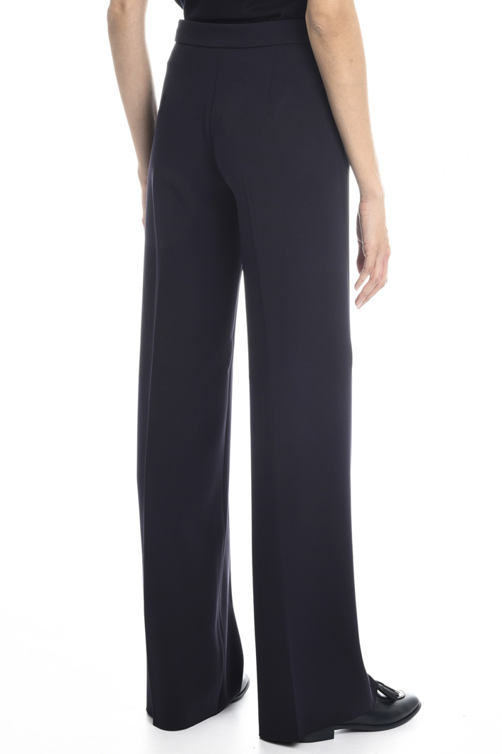 Straight leg cady trousers Intrend
