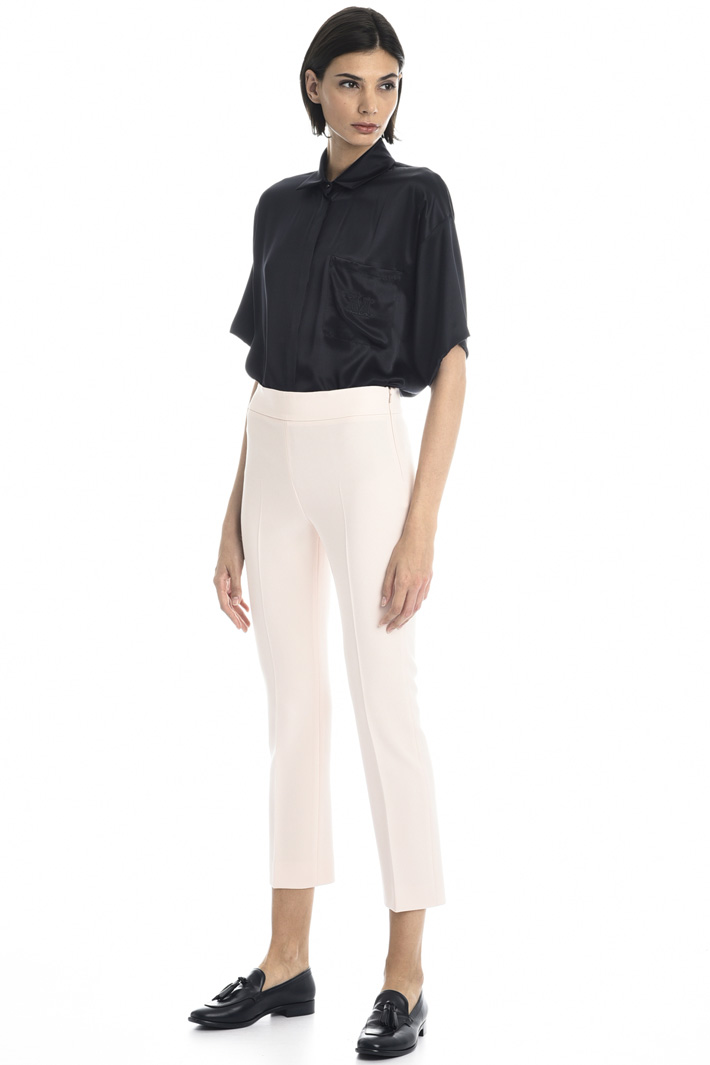 Capri trousers in cady Intrend