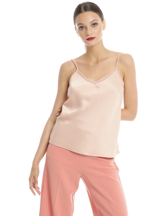 Envers satin top Intrend