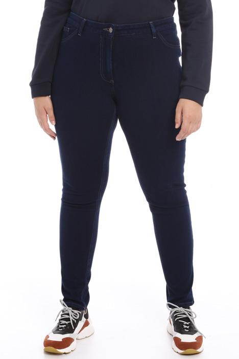 Jeans in jersey denim Intrend