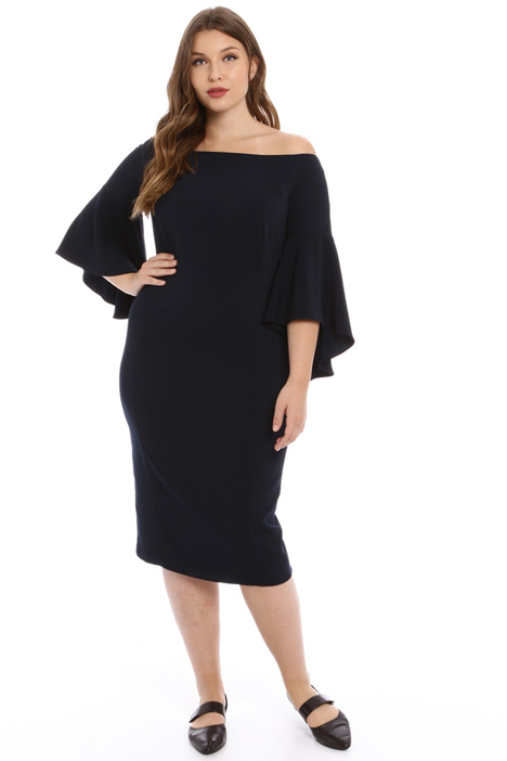 Off-shoulder sheath dress Intrend