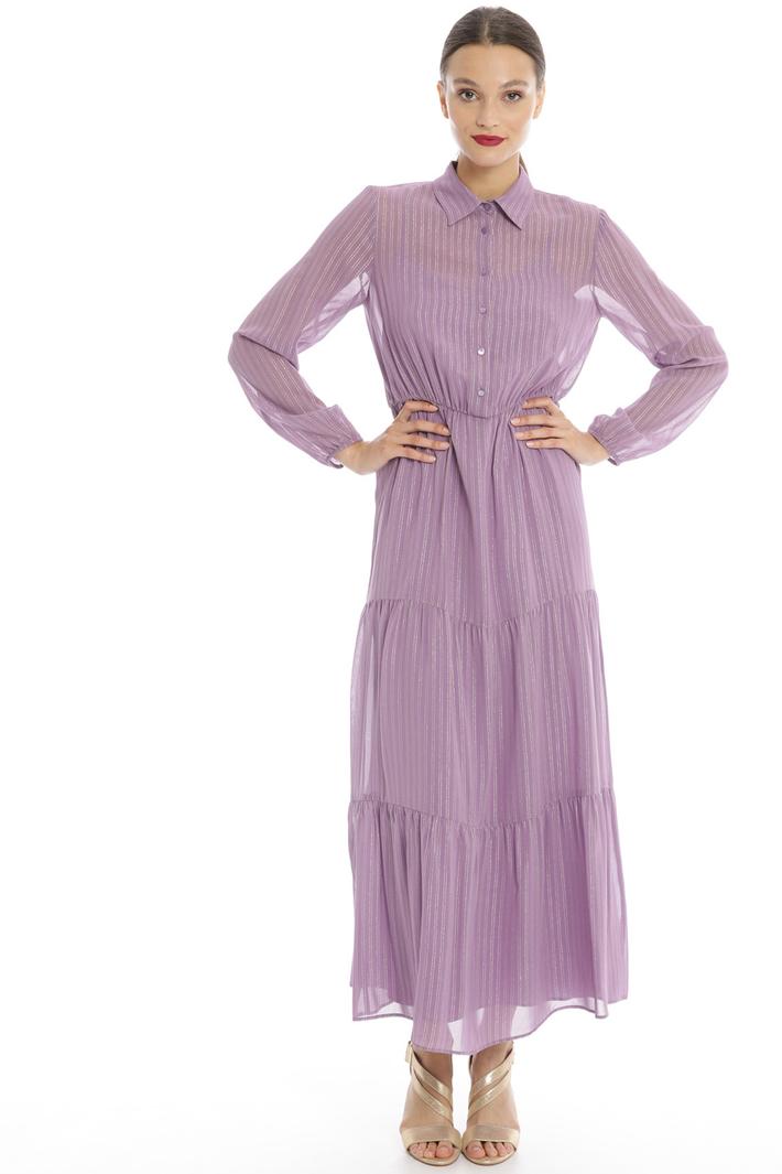 Long georgette dress Intrend