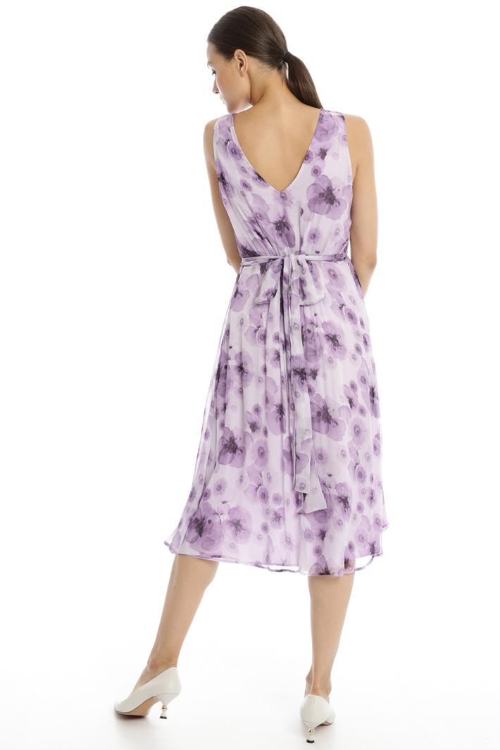 Fluid creponne dress Intrend