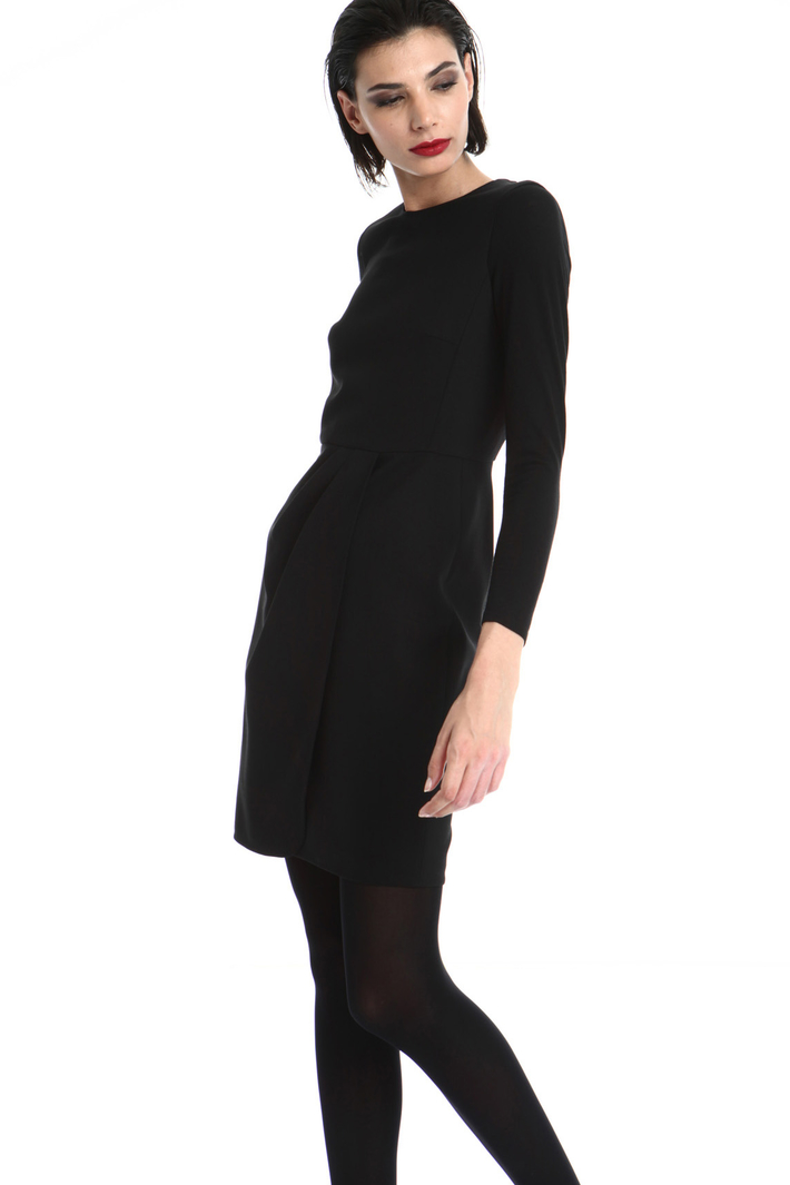 Sheath dress in wool Intrend