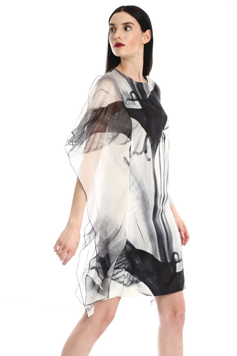 Silk twill dress Intrend