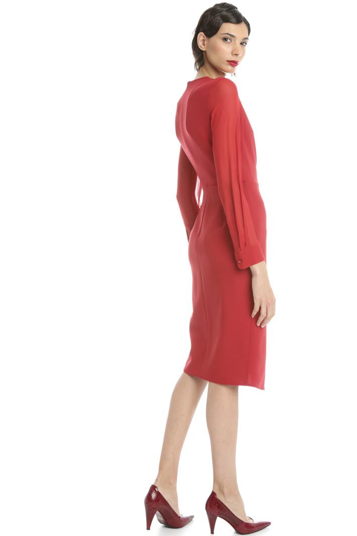 Wool crepe dress Intrend