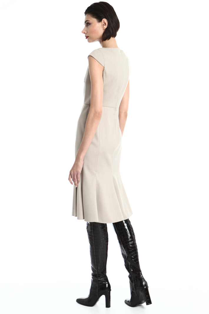 Cap sleeve midi dress Intrend