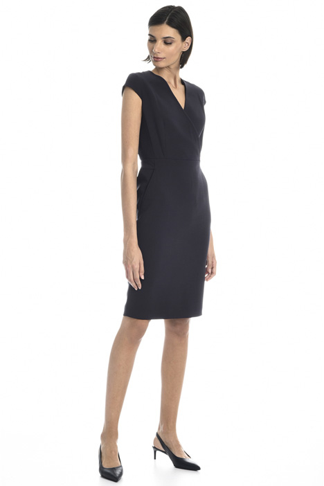 Wool sheath dress Intrend