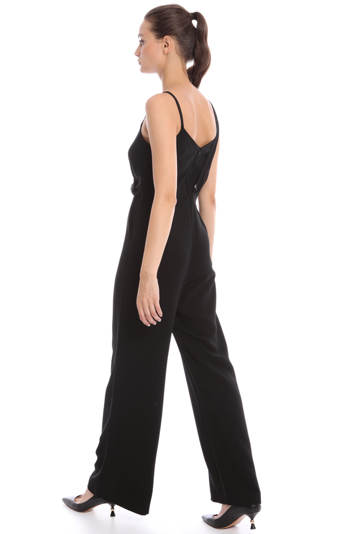 Creponne overlay jumpsuit Intrend