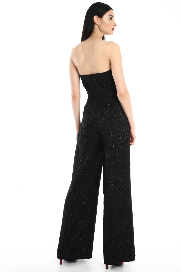 Fil coupé jacquard jumpsuit Intrend