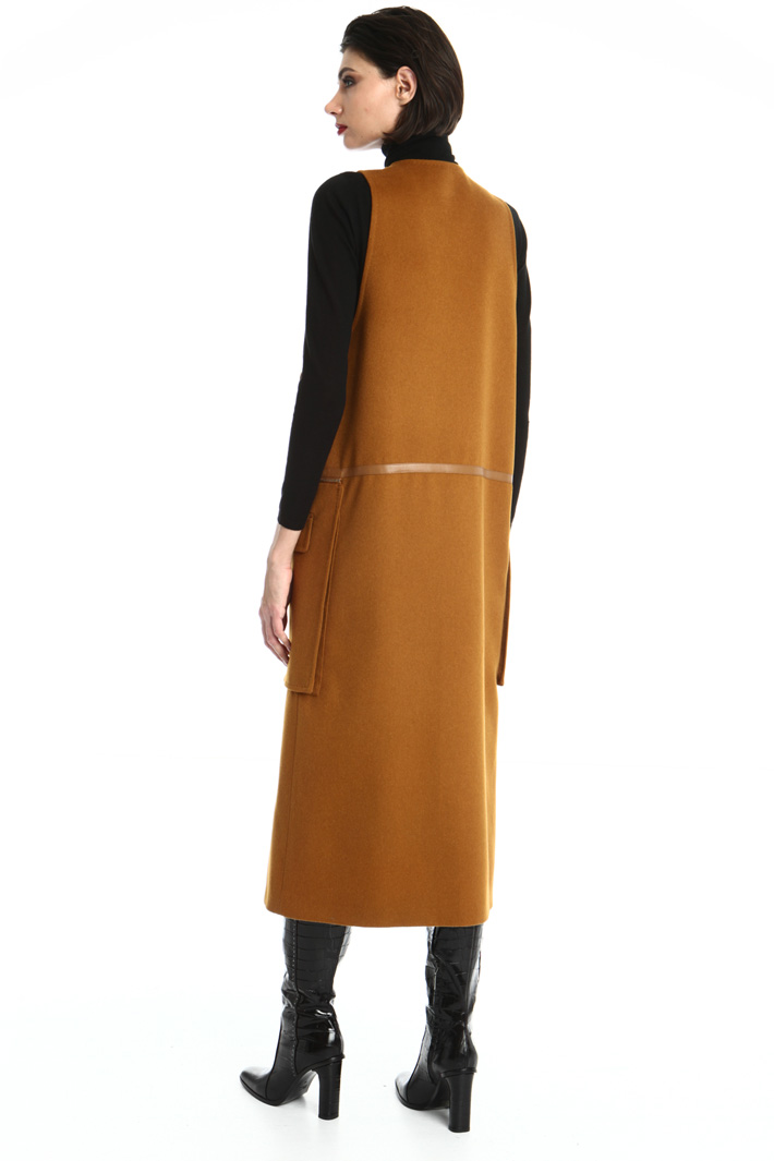 Long camel with pockets Intrend